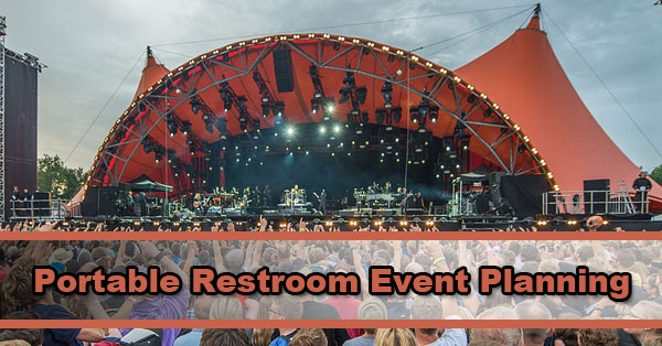 Restrooms for Events