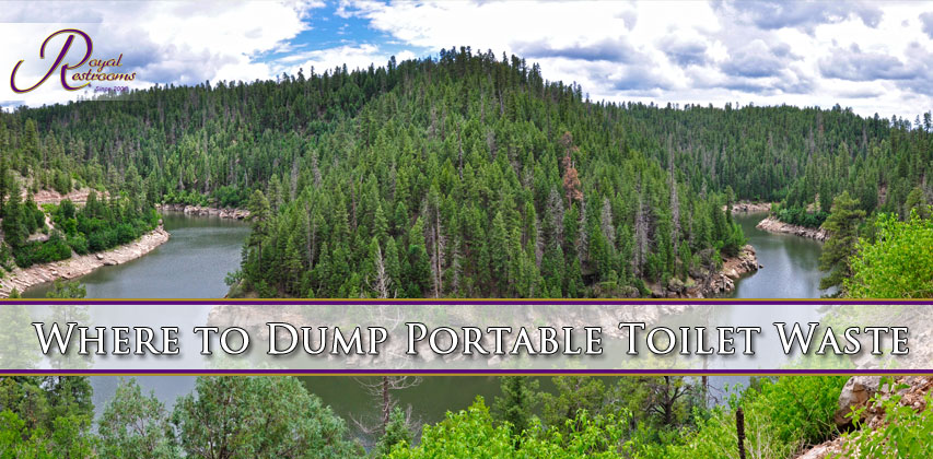 Where to Dump Portable Toilet Waste